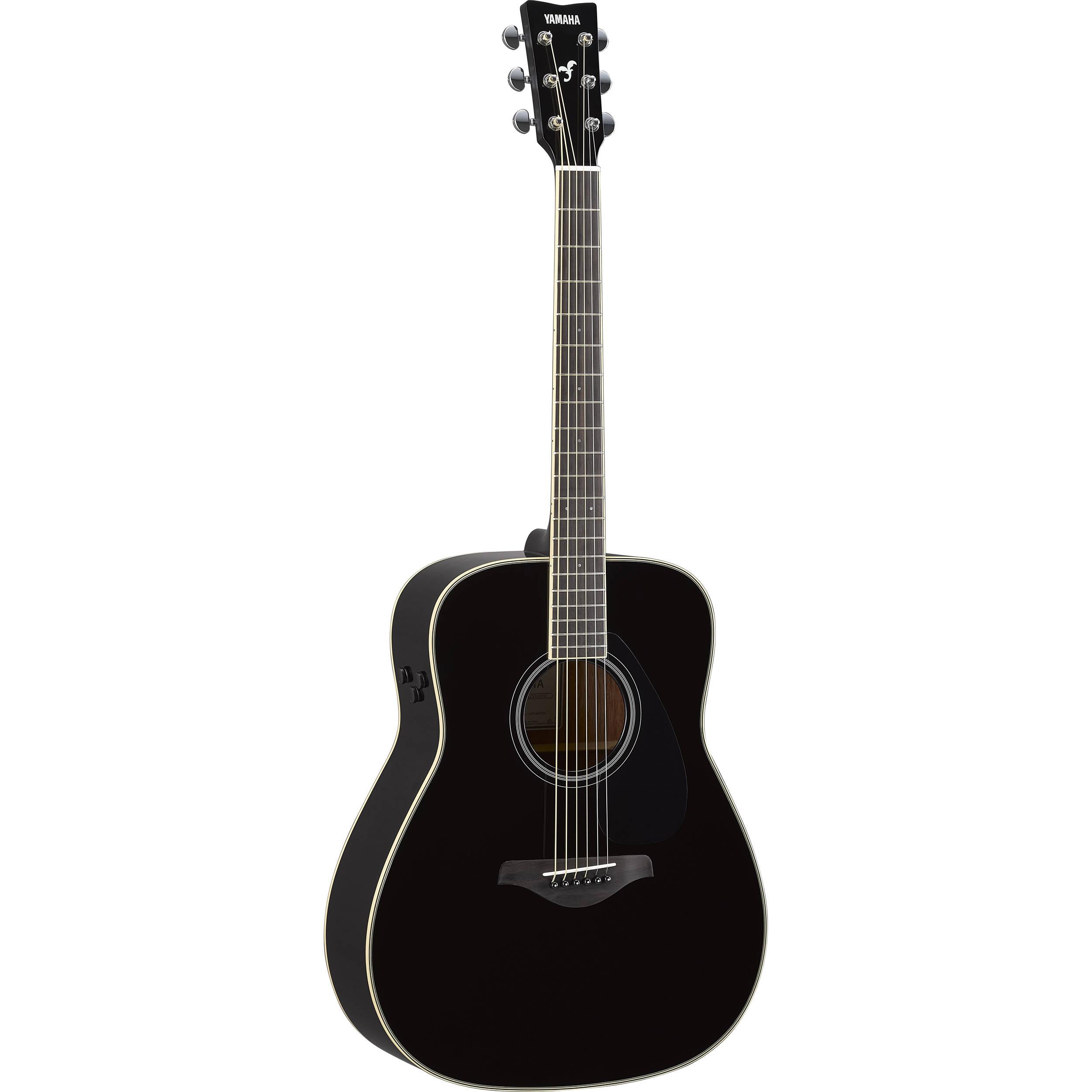 Yamaha FG TA BK TransAcoustic Gitar GP Musikk
