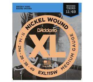 DAddario - EXL115W El. gitar strenger (011-049)