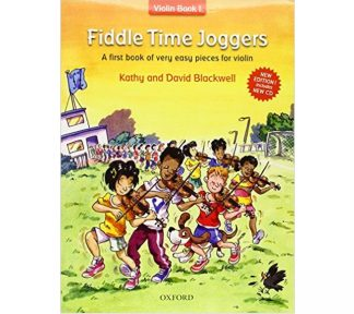 Fiddle Time Joggers Book w/CD violin book 1 Blackwell