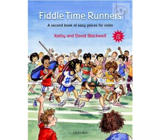 Fiddle Time Runners Book w/CD violin book 2 Blackwell