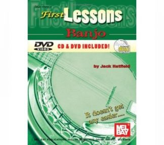 Mel Bay - First Lessons Banjo (m/CD & DVD)