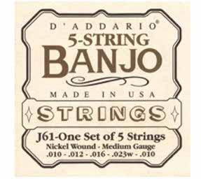 DAddario - J61-One Set of 5 Strings