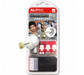 Alpine - MusicSafe Pro Ørepropper Silver/White