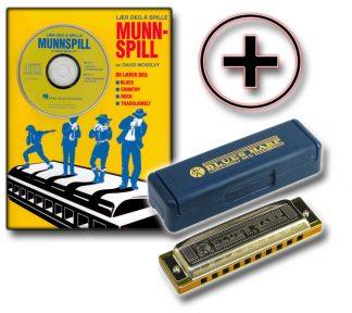 Hohner - Munnspillpakke m/Lærebok