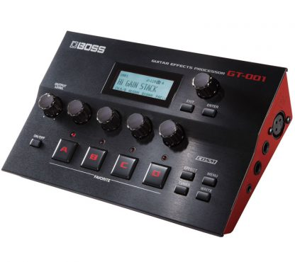 Boss - GT-001, : Guitar and Vocal effects, amp models, Computer
