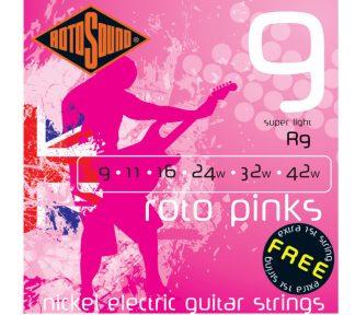Rotosound - R9 Roto Pinks (009-042) gitarstrenger