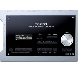 Roland - SD-50, Mobile Studio Canvas, Sound Module