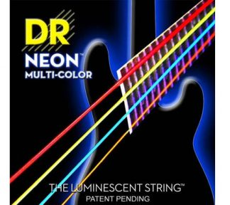 DR - Neon Multi-Color Bass 4-str 45, 65, 85, 105