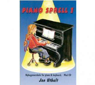 Pianosprell bok 1 m/CD (Pianobus) Jan Utbult