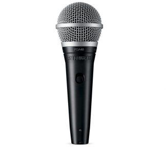 Shure - PGA48XLR, mikrofon m/XLR-XLR kabel 5m