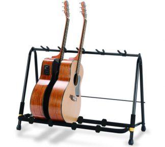 Hercules - GS525B, Display Rack, Stativ for 5 gitarer