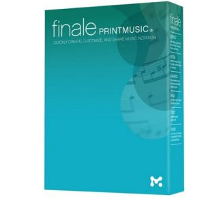 Finale - Finale Printmusic 2014, Notasjonsprogram [Download]