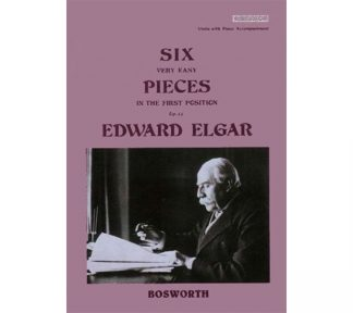Six Very Easy Pieces in the First Position Op.22. - Edward Elgar