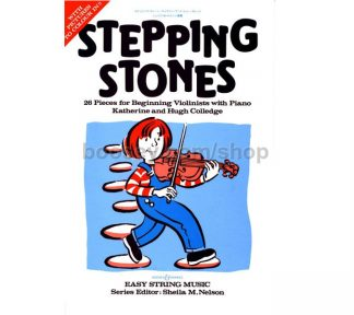Stepping Stones - 26 Pieces for Beginning Violinists with Piano