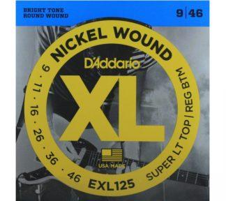 D'Addario EXL125 El. gitar strenger (009-046)