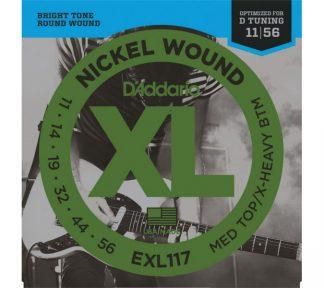 D'Addario EXL117 El.gitar strenger (011-056)