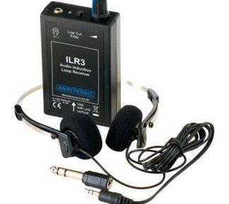 Ampetronic Mottager Teleslynge m/hodetelefon