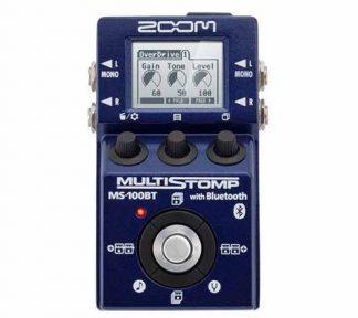 Zoom - MS-100BT multistomp for gitar m/bluetooth