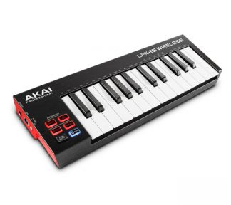 Akai - LPK25 Wireless 25 Mini-Key Bluetooth MIDI Keyboard