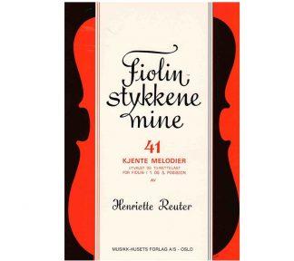 Fiolinstykkene Mine, Henriette Reuter - Fiolin